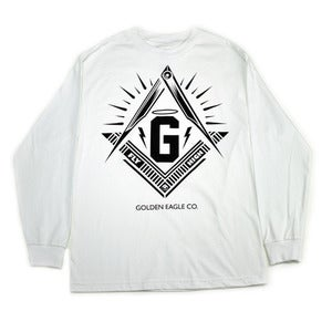 Image of Skate Society L/S Tee in White 