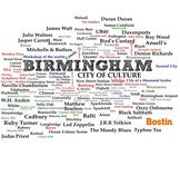 Image of Birmingham - Represented as a wordle