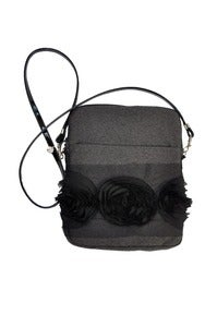 Image of Heidi iPad Crossbody - Gray Italian Wool