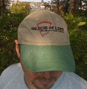 "Image of ""Slice of Life"" Adjustable Baseball Cap"
