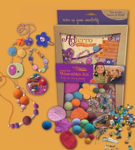 Image of Wool Felt Jewelry Kit