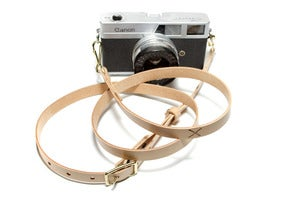 Image of Olivier Camera Strap - Natural