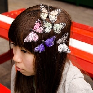 Image of Medium Butterfly Hair Clip (various colours)