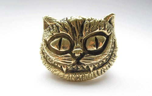 Image of Cheshire Cat Brass Ring