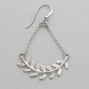 Image of Leaf Chandeliers | Silver {30% OFF + FREE SHIPPING}