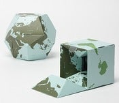 Image of 11/016: Geografia Flippable Globe