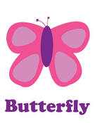 Image of butterfly pink