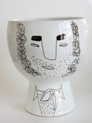 Image of Unique Flower me happy pot - Mr. Hunky