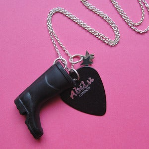 Image of Festival Welly Rock Plectrum Necklace
