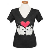 Image of Bunnies Deep V-Neck