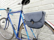 Image of Bicycle Purse-Blue