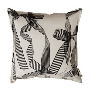 Image of ribbons cushion cover