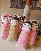 Image of Kokeshi Doll panel