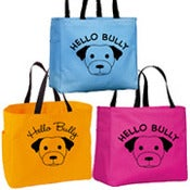 Image of HELLO BULLY DELUXE TOTE