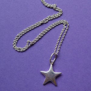 Image of My Sterling Star Necklace