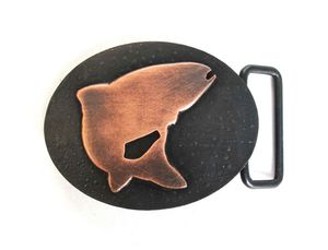 Image of Copper Trout Buckle