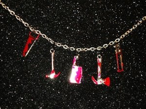 "Image of ""REDRUM"" Necklace"