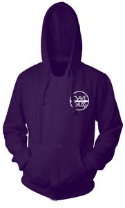 Image of Purple Hoodie with Logo