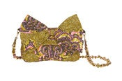 Image of SIKA Side Purse / Pink and Brown
