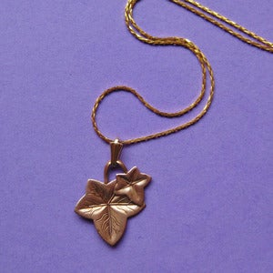 Image of Vintage Ivy Necklace