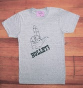 Image of Bullet Bullet Tee  Heather Grey (H)