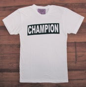 Image of Champion Tee - White (H)
