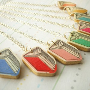 Image of Book Necklace