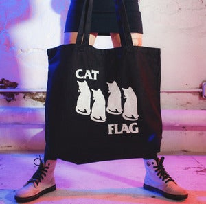 Image of CAT FLAG TOTE