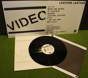 "Image of VIDEO ""Leather Leather"" LP (members of Bad Sports, Wax Museums, Wiccans, etc)"