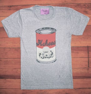 Image of Ackees Can Tee  Heather Grey