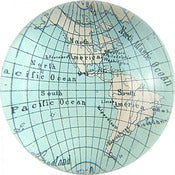 Image of Western Hemisphere Paperweight