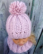 Image of Kit tricot bonnet &quot;Sacha&quot;