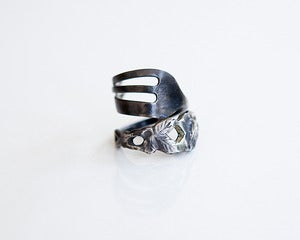 Image of Tea-Time Antique Fork Ring