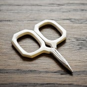 Image of Kelmscott Designs : Little Gems White Scissors