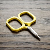 Image of Kelmscott Designs : Little Gems Yellow Scissors