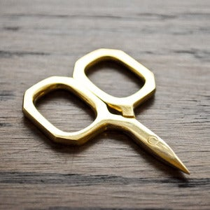 Image of Kelmscott Designs : Little Gems Gold Scissors