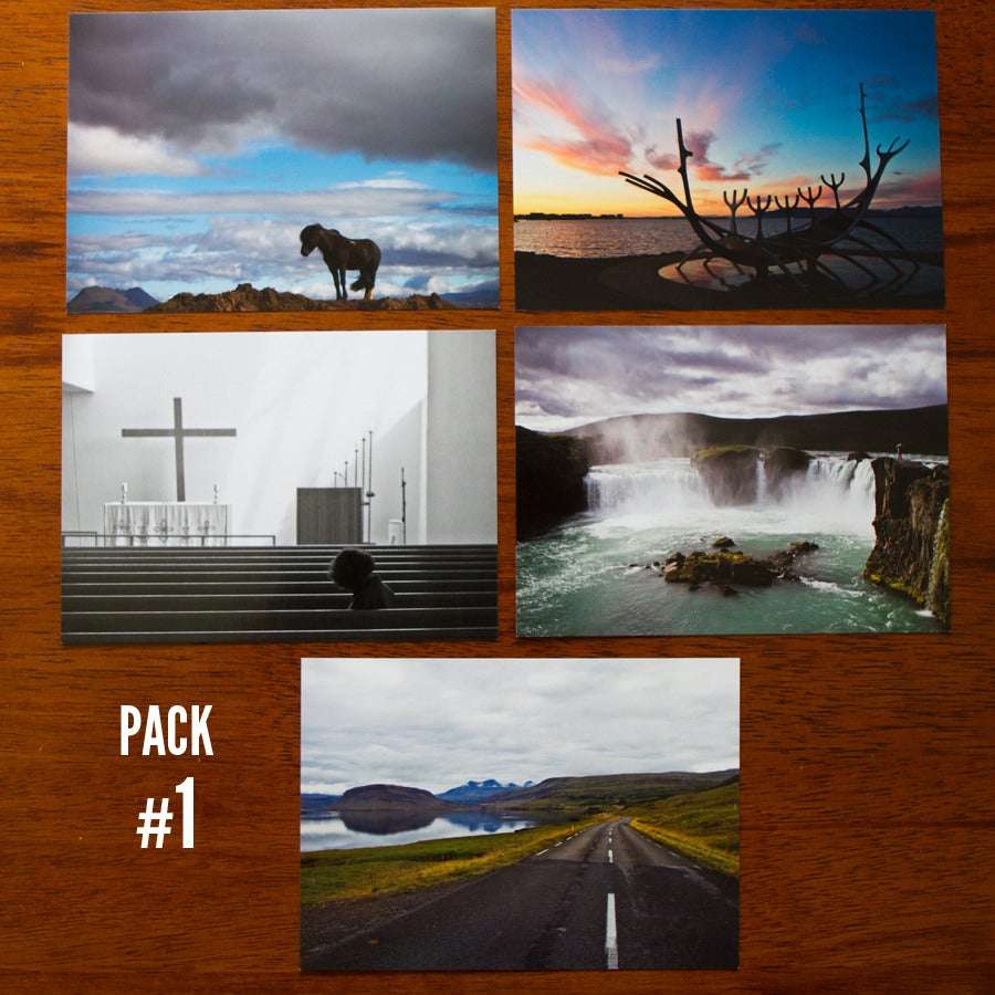 Image of Iceland Postcard Packs
