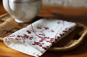 Image of berries tea towel