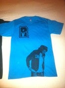 Image of Women's &quot;Badge&quot; Tee (Blue)