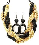 Image of Chunky Two toned necklace