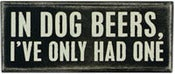 Image of Box Sign In Dog Beers