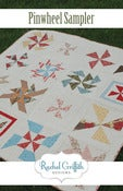 Image of pinwheel sampler quilt pattern #105 {PDF VERSION}