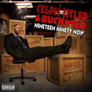 Image of Celph Titled & Buckwild - Nineteen Ninety Now CD