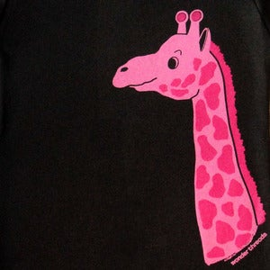 Image of GIRAFFE ONESIE BROWN