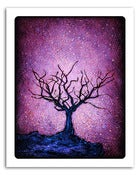 "Image of 8x10"" Paper Print - Solo Series - Dormant Tree 2 - Purple"