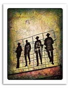 "Image of 8x10"" Paper Print - Hollywood Billboard - The Wild Bunch"