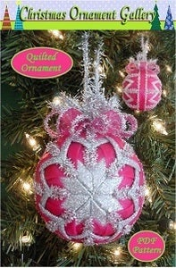 Beaded Christmas Ornaments - Crafts: free, easy, homemade craft