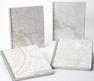 Image of 11/021: Geografia City Ring Note Books