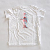 Image of Convict 3D youth tee - white