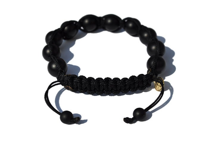 Image of Black Silk w/ Matte Black Onyx